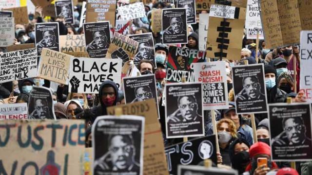 Хиляди се събраха в Лондон на протест срещу расизма
