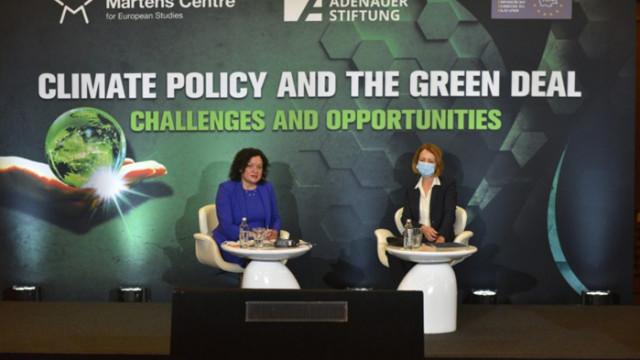 Фандъкова: Българските общини имат водеща роля в борбата с климатичните промени