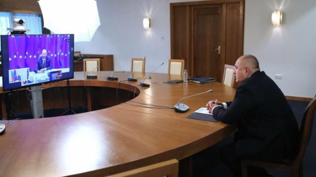 Борисов пред Шарл Мишел: Да обърнем внимание върху готовността на ЕС за бъдещи заплахи за здравето