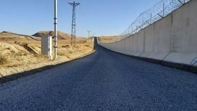 Турция завърши 81 км стена по границата с Иран