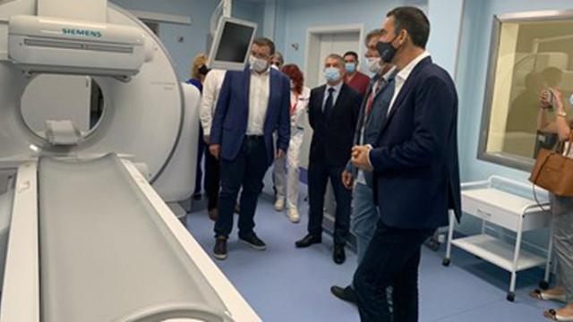 В Бургас заработи уникален за региона ПЕТ скенер, здравната каса ще поема изследването
