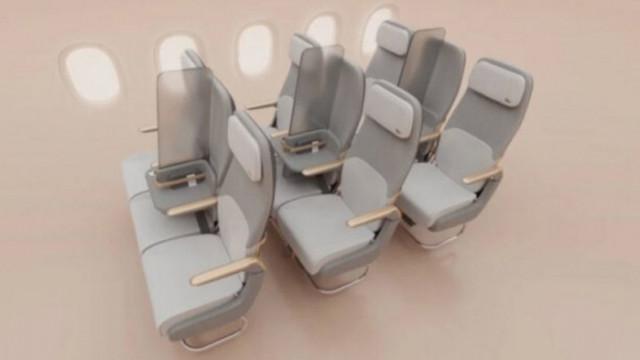 Може ли да се спазва социално дистанциране в самолетите?