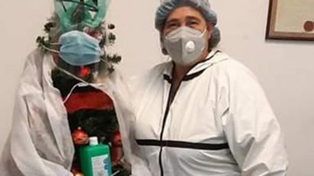 Травестит набил д-р Кателиева, а тя спасявала баща му, който бил с инфаркт
