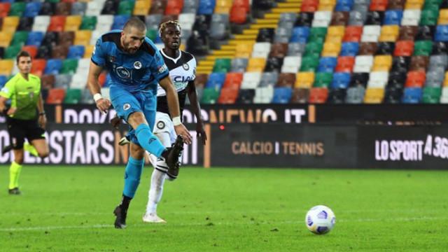 Гълъбинов се завръща в Серия А в двубоя срещу Рома