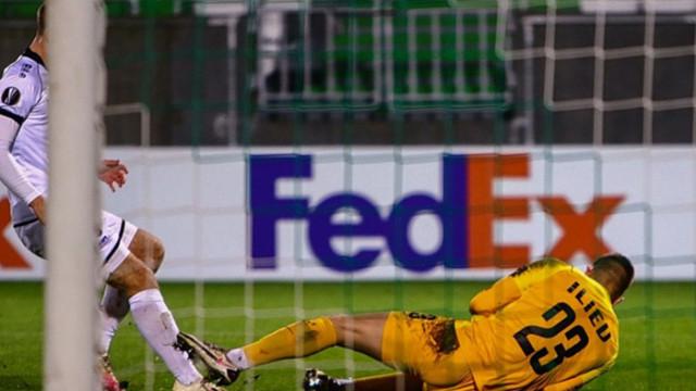 УЕФА отличи вратарите на Лудогорец