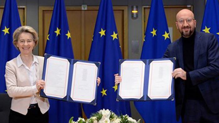 """Настъпи краят на сагата """"Брекзит"""", Великобритания напусна ЕС"""
