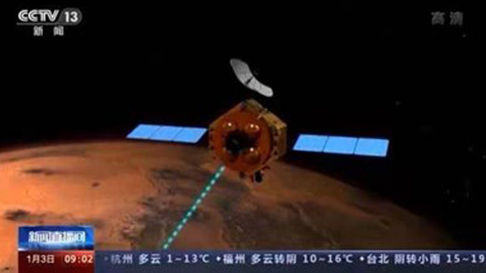 """Сондата """"Тиенуън-1"""" е изминала над 400 млн. км. и ще кацне на Марс тази година"""