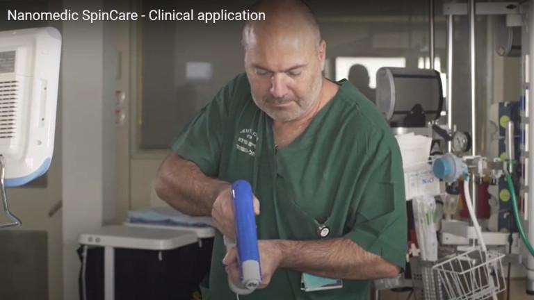"""Медицински пистолет с нано влакна поставя """"заместител на кожа"""" при изгаряния"""