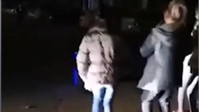 Случайно заснели как прострелват жена от Ловеч в новогодишната нощ