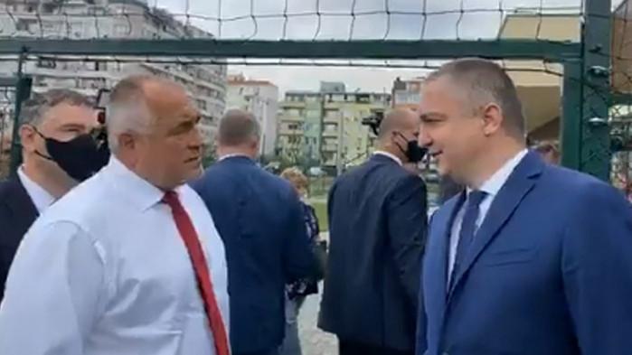 Борисов изненада варненци с визита (ВИДЕО)