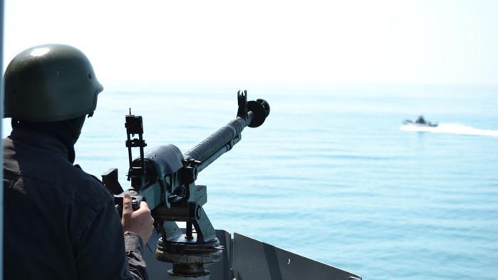 """Продължава учението на флотилия бойни и спомагателни кораби """"ЧЕРНО МОРЕ 2020"""""""