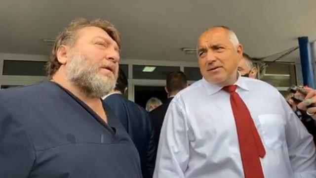 "Бойко Борисов посети МБАЛ ""Св. Анна"" във Варна"