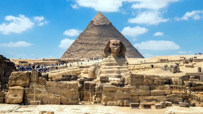 Пирамидите, каквито не са били