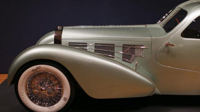 Продава се уникално Bugatti Type 57S, открито в работилница
