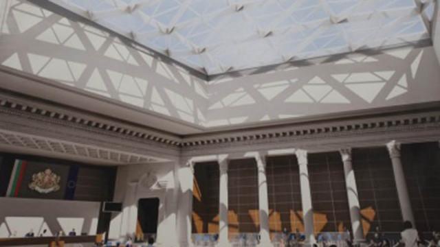 Депутатите ще работят в новата пленарна зала наесен
