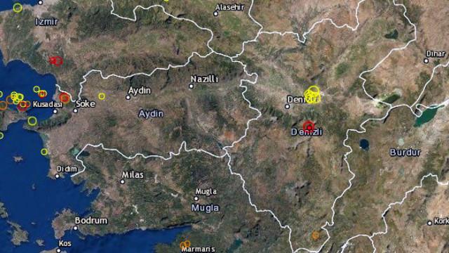 4 по Рихтер в Югозападна Турция