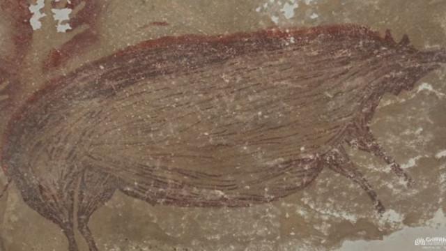 Откриха най-древната пещерна рисунка (ВИДЕО)