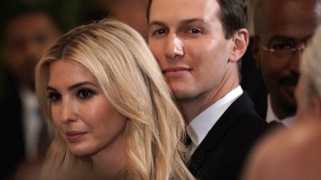 Тайните служби не давали на Иванка Тръмп и Джаред Къшнър да ходят до тоалетна