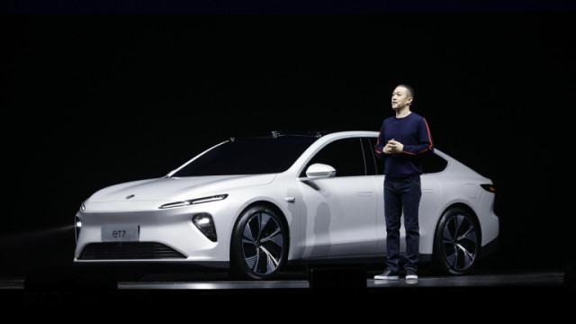 Nio ET7, Tesla и първи електрически седан на китайската компания