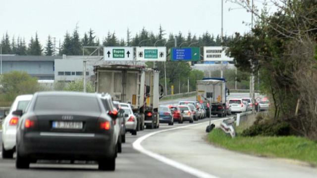 """Шофьорите да карат с повишено внимание между 424-ти и 425-ти км на АМ """"Хемус"""""""