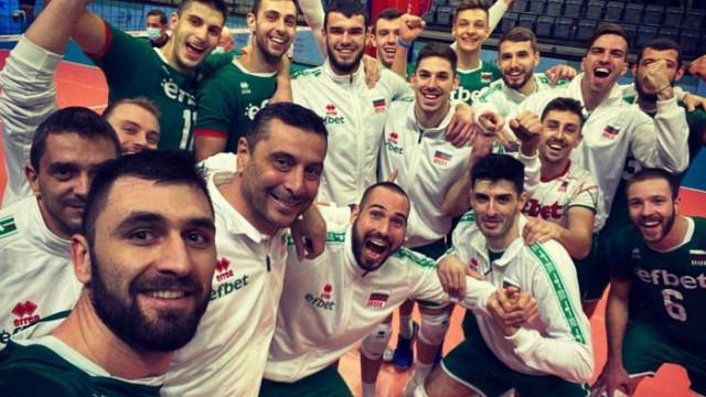 Волейболистите ни от Израел: Благодарим ви за подкрепата, български фенове!