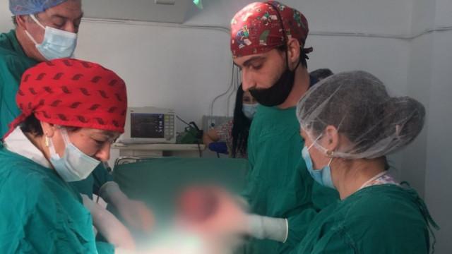 Бебе с антитела срещу COVID се роди в Пазарджик
