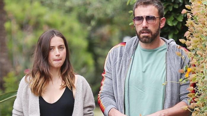 Бен Афлек, Ана де Армас и новината, че двамата актьори се разделят