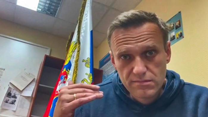 """Навални e бил преместен в центъра за задържане """"Матроска тишина"""""""