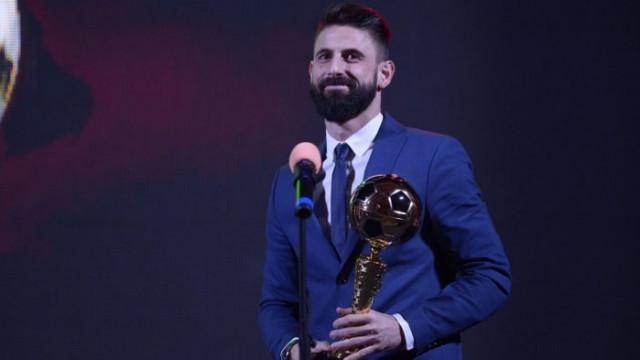 Димитър Илиев е Футболист на годината за 2020 година!