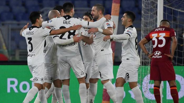 Гълъбинов и Специя шокираха Рома, продължават към Купата на Италия