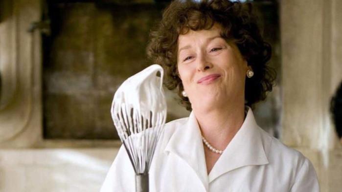 The French Chef, Джулия Чайлд, Сара Ланкашър и сериала на НВО Мах за известната готвачка
