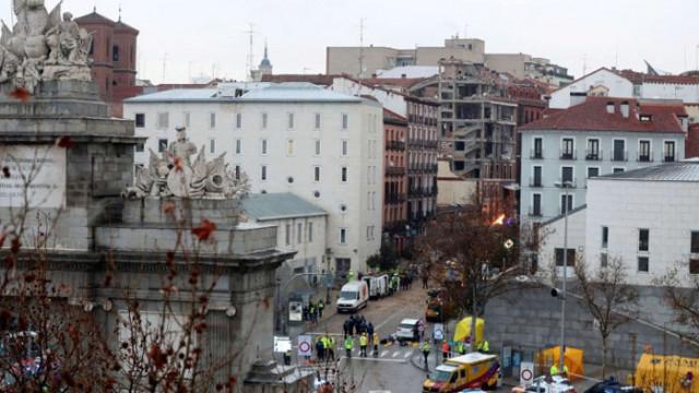 Българинът, загинал при експлозията в Мадрид, минавал случайно пред сградата
