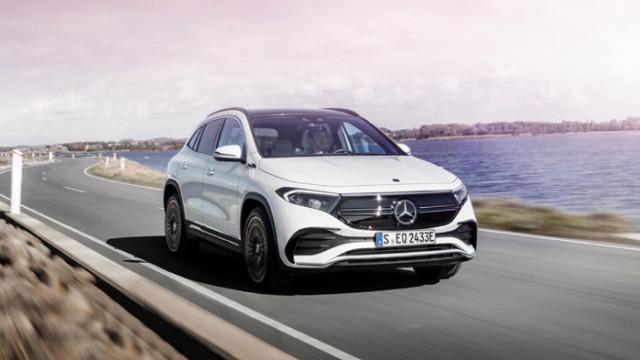 Официален анонс на електрическия кросоувър Mercedes-Benz EQA