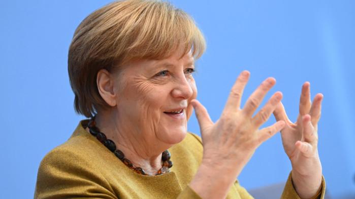 """Меркел защитава """"Северен поток 2"""" въпреки противопоставянето на САЩ"""