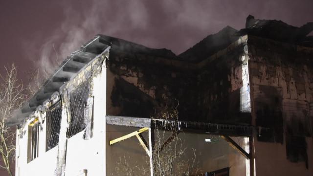15 загинали при пожар в дом за възрастни в Украйна