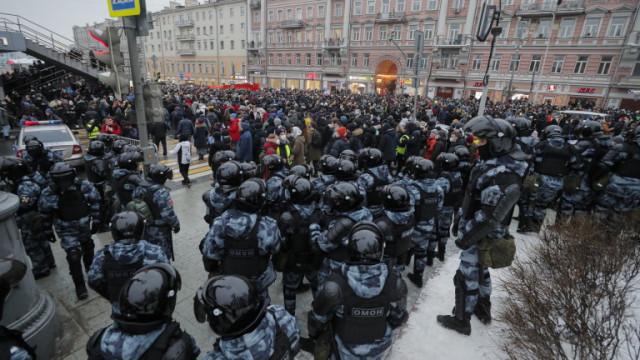 Русия: САЩ да не се месят и да обяснят публикации на маршрути на протести в Москва