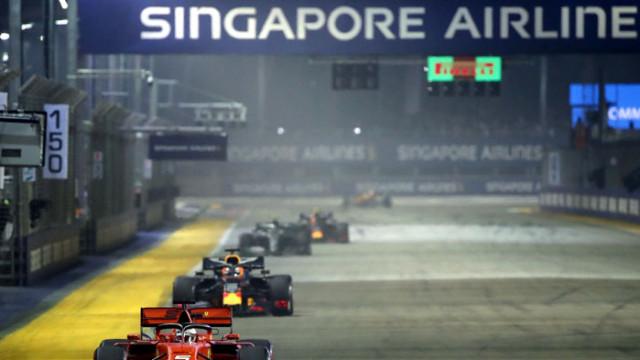 Гран При на Сингапур не може да се проведе при закрити врати