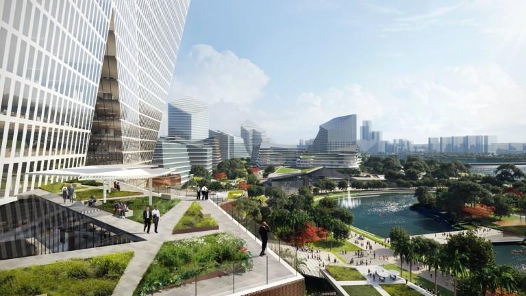 Tencent ще си строи собствен град