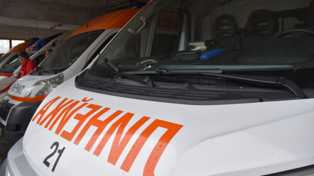 Мъж е паднал от скеле по време на работа в Монтанско