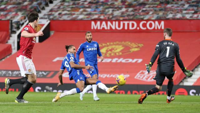 """Евертън попари Юнайтед на """"Олд Трафорд"""" в 95-та минута"""