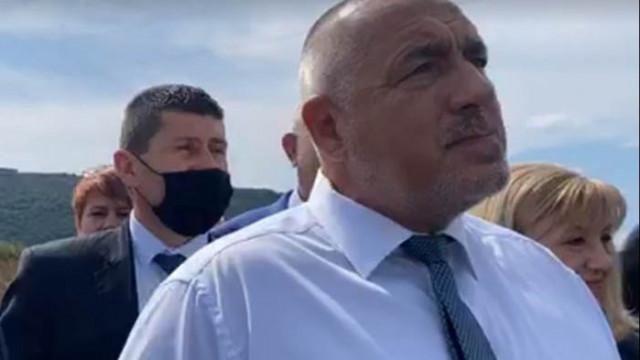 Борисов инспектира пътя между Мездра и Ботевград (ВИДЕО)