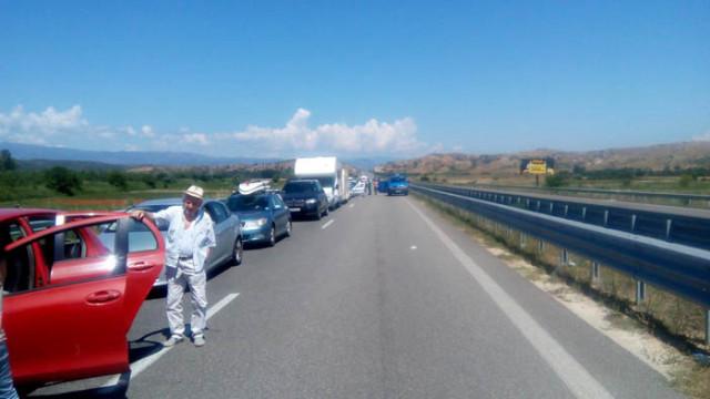 Невиждано на Кулата: 5 км опашка от автомобили за влизане в Гърция