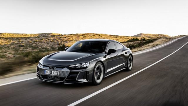 Audi представи електромобила e-tron GT: почти 500 км пробег и начална цена 99 800 евро