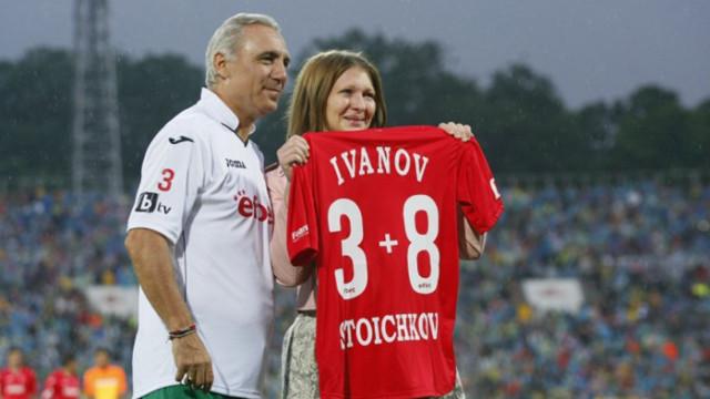 Стоичков за Трифон Иванов: Беше №1 и така ще го запомня!