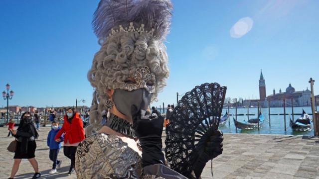 Без туристи на карнавала във Венеция