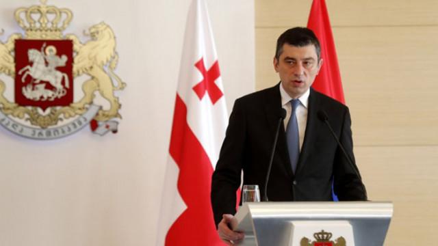 Премиерът на Грузия подаде оставка заради заповед за арест на опозиционер
