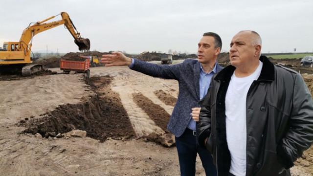 Борисов: Още през лятото ще се пусне едното платно за движение на северния обход на Бургас
