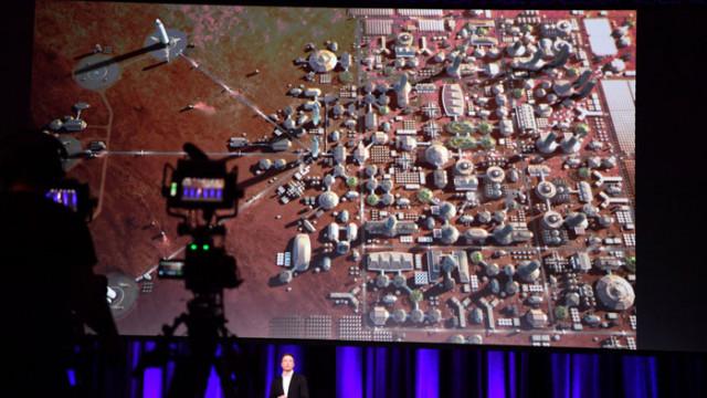 Едномилионен град на Марс до 2100 година
