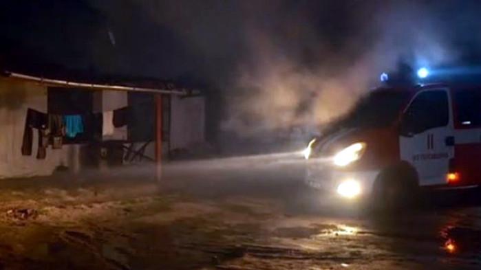 Няма пострадали при големия пожар в пловдивското село Труд