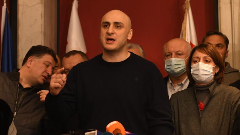 Зрелищен арест на лидера на опозицията в Грузия след избирането на нов премиер